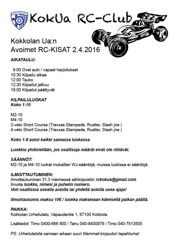 RC-kisat Kokkola